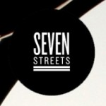 Seven Streets logo. White text on black background.