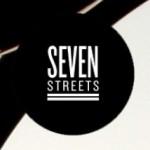 Seven Streets logo. White text on black background.